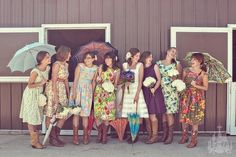 Funky gals. I want to wear boots at my reception!