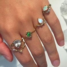 Imagem de diamond, gold, and ring Cute Jewelry, Jewelry Box, Jewelry Accessories, Piercings, Estilo Hip Hop, Accesorios Casual, Style Vintage, Anklets, Chanel