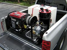Convert your truck or van into a professional detailing rig with Rightlook.com's RightWash Detailing Skid Mount Unit. ✔2000 PSI Professional Pressure Washer with Attached Hose Reel, Gun and 50 Feet of Hose ✔Professional Grade Generator ✔90 Gallon Water Tank & More!
