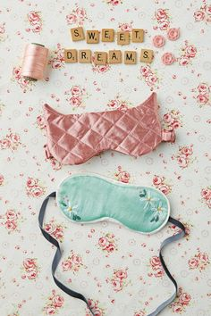 Beauty tutorial: How to sew eyemasks | Mollie Makes 45 Great to carry in your purse for dental appointments (those awful lights!) or waiting for your eyes to dilate at the optometrist's office...