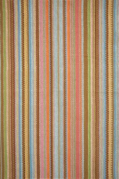 Dash and Albert Zanzibar Ticking Flat-Woven Area Rug: it's nearly impossible to find horizontal-striped kitchen runners, Dash and Albert has a great selection.