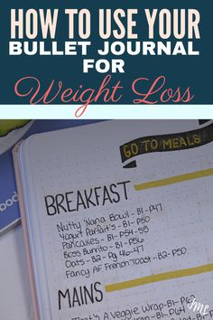 Discover the weight loss layout tips and ideas you need to include in your Bullet Journal! Quick Weight Loss Diet, Diet Plans To Lose Weight, How To Lose Weight Fast, Reduce Weight, Bullet Journal Weight Loss Tracker, Weight Loss Journal, Lose Lower Belly Fat, Bullet Journal Layout, Bullet Journals