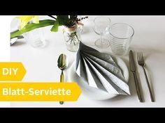 Servietten falten einfach: 15 Anleitungen für jeden Anlass + Video | OTTO