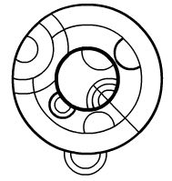 How to write in Gallifreyan: 1)Click on the link in the decription; it will send you to a website 2)Click guide 3) Under writing guide, click view to open a .pdf file