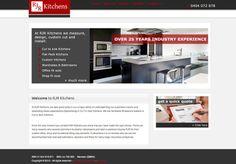 RJR Kitchens Web Site by Scorched Media - www.scorchedmedia.com.au Brisbane, Office Fit Out, Portfolio Web Design, Custom Kitchens, Shopping