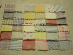 Fool proof way to line up all quilt seams.