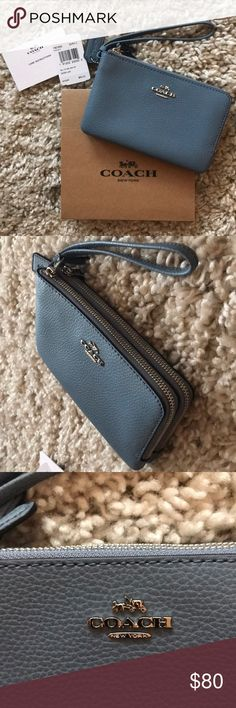 5b52ee7258aa BRAND NEW COACH WALLET Brand new with tags! Real leather. Perfect size with  double