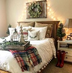 Beautiful rustic farmhouse master bedroom ideas (18)