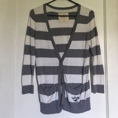 Hollister Cardigan Striped, Hollister, great condition Hollister Sweaters Cardigans