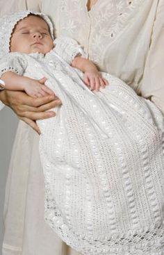 Pattern Correction Heirloom Baby Set Crochet Pattern | Red Heart