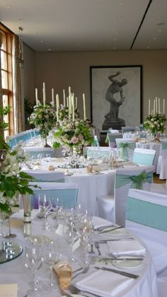 Beautiful floral wedding displays at Bowood Hotel, Spa and Golf Resort wedding venue in Calne, Wiltshire