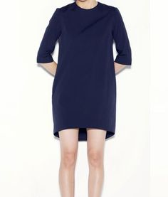 3/4-SLEEVE DRESS  ColorNavy, BlackSize36, 38, 40Material78%Cotton 17%Nylon 5%PolyurethanePrice¥44,100 (w/tax)  買取価格15,000円