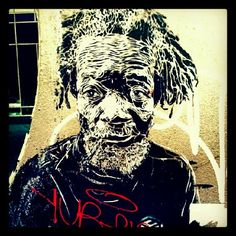 Old Rastafari #graffiti #streetart #raval #barcelona Photo by novoldirno • Instagram