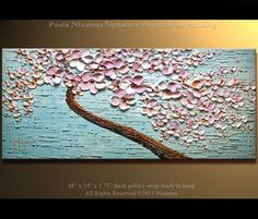 Modern Abstract Painting Oil Painting Modern Palette by Artcoast, $375.00