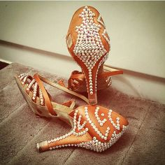 Custom Stoning - Aida Dance Shoes