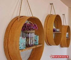 How to make a shelf from sieves for your kitchen decoration . How would you like to make a shelf from sieves for your kitchen decoration? Cool Diy, Kitchen Ornaments, Bauhaus, Diy Kitchen Decor, A Shelf, Home Decor Bedroom, Diy Furniture, Diy And Crafts, Interior Decorating