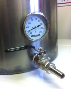 How-To drill for weldless fittings #homebrew #beer