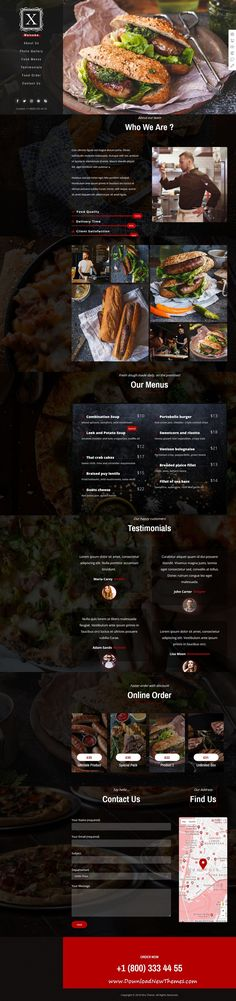 Xtra is clean and modern design responsive multipurpose #WordPress theme for stunning #restaurants and #cafes website with 30+ niche homepage layouts to download & live preview click on image or Visit #webdesign
