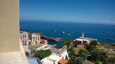 Veduta dal castello. #Ventotene #estate2014