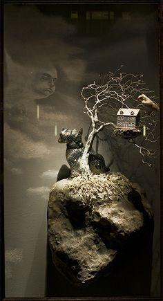 """""""Tree house"""", pinned by Ton van der Veer"""