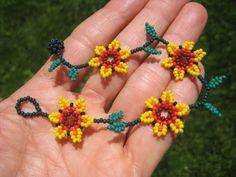 Huichol Bead Indian Bracelet Jewelry Art Hand Made Guadalajara Mexico A39 | eBay