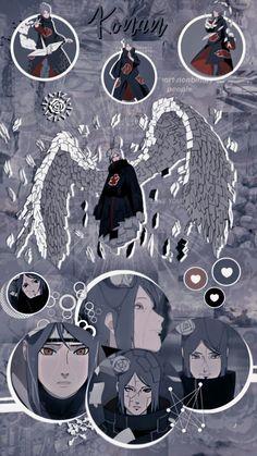 Wallpaper/Lockscreen Konan Akatsuki