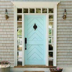beautiful door color, Honey + Fitz