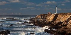 Point Arena Lighthouse on The Mendocio Coast CA stay in the light keepers cottage