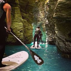 #SUP stand up paddling in Oman How Cool it this?  By @omansup   www.magicalarabia.com
