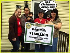 Brian Willis $1 Million Winner