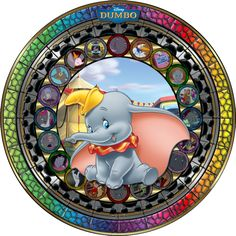 Stained Glass | Dumbo by Chelly [©2014 Maleficent84]