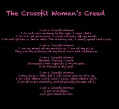 Crossfit Creed