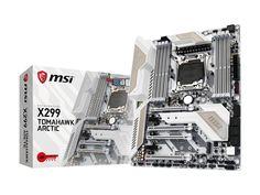 MSI X299 TOMAHAWK ARCTIC LGA 2066 Intel #globalscope #qatar #qatardeals #qataroffers http://www.globalscope.qa/X299-TOMAHAWK-ARCTIC