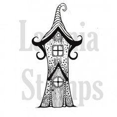 Zen pixie house 1 http://laviniastamps.com/products-page/fairies-mystical/