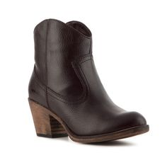 Rocket Dog Soundoff Bootie - Walnut found on Polyvore