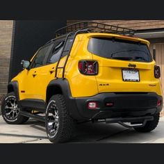 Jeep Renegade, Fender Flares, Premier Designs, Madness, Bike, Cars, Bicycle, Bicycles