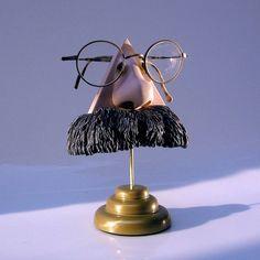 Eyewear Display Art Object Nietzsche Nose Eyeglass by ArtAkimbo