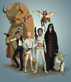 Avatar: The Last Airbender and Star Wars crossover