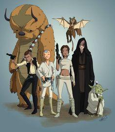 The Last Airbender - Star Wars