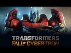 ▶ Transformers Fall of Cybertron (Game Movie-Full Length) {HD} - YouTube