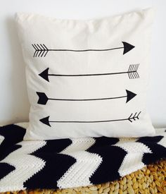 Cool arrow cushion cover by Drink Tea and Sew http://www.drinkteaandsew.com Buy it on Etsy https://www.etsy.com/listing/259289738/arrow-cushion-cover?ref=shop_home_active_8