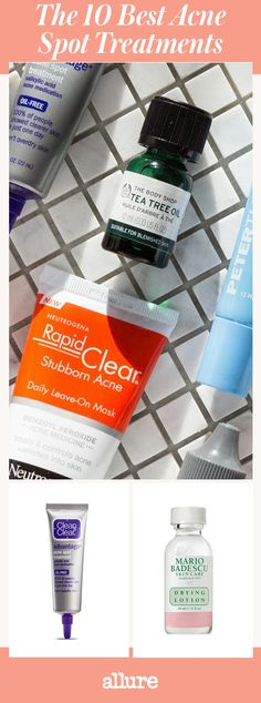 Woke up with a breakout? No need to fret. Simply reach for one of these tried-and-trusted, Allure editor-approved blemish banishers to zap zits, stat.