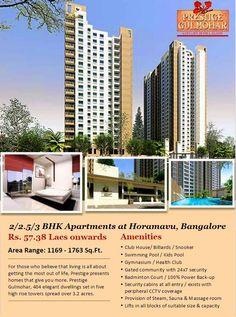 Prestige Gulmohar Horamavu Bangalore
