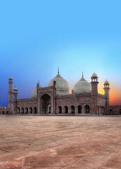 The Badshahi Masjid Lahore Pakistan