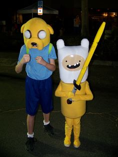 Adventure Time DIY costumes.