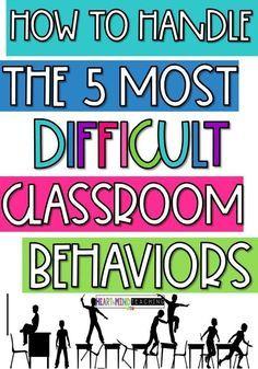 Classroom Discipline, Classroom Management Strategies, Behaviour Management, Classroom Rules, Teaching Strategies, Classroom Ideas, Preschool Classroom Management, Classroom Behavior Plans, Classroom Contract