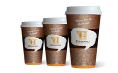 Paper Coffee Cup Design Hanoozs- coffee boutique design