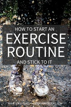 How To Start An Exercise Program And Stick To It It's one thing to start an exercise routine. But what can you do to make it stick? Check out this article for some exercise motivation and a game plan. Yoga Fitness, Physical Fitness, Personal Fitness, Fitness Watch, Fitness Quotes, Losing Weight Tips, How To Lose Weight Fast, Weight Loss, Lower Ab Workouts