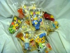 Simpsons Toys!  Starting at $0.99!!!