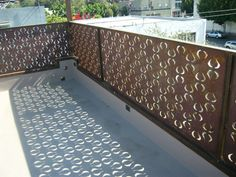 This laser cut panelling is beautiful and creates lovely shadows